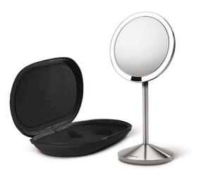 Lustro kosmetyczne sensorowe mini Simplehuman srebrne