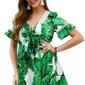 Kombinezon w zielone liście