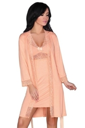 Koszulka i szlafrok shirleena livia corsetti