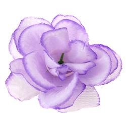 Mini róża wyrobowa 5 cm - fioletowy - fioletowy