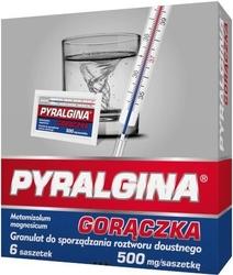 Pyralgina gorączka 500mg x 6 saszetek