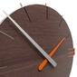 Zegar ścienny mike calleadesign jasny dąb 10-019-81