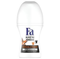 Fa men xtreme invisible, dezodorant roll-on, 50ml