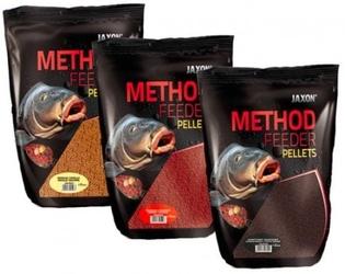 Pellet jaxon method feeder 4mm 500g green betaina
