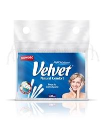 Velvet natural comfort, patyczki higieniczne do uszu, folia 160 sztuk