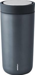 Kubek termiczny stalowy To Go Click 0,4 l niebieski metallic