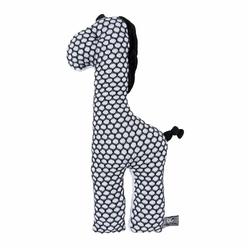 Babys Only, Sun Żyrafa przytulanka, 40 cm, czarno-biała