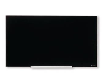 Tablica szklana magnetyczna czarna 1260x711mm