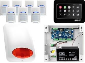 Alarm system ropam neogsm-ip 7x bosch tpr-4bs sygnalizator powiadomienie gsm