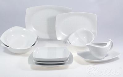 Serwis obiadowy bez wazy dla 12 osób  44 części - e745 akcent