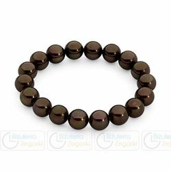 FC Bransoletka elastyczna 786-023-11 kolor ciemny brąz