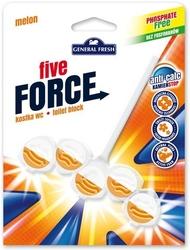 General fresh, five force, melon, zawieszka do toalety, 50g