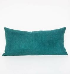 Urban Nature Culture :: UNC poduszka lniana Comporta aqua niebieska