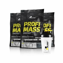 Olimp Profi Mass 1000 + Shaker Gratis Zestaw - Tiramisu