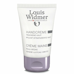 Louis Widmer krem do rąk, lekko perfum.