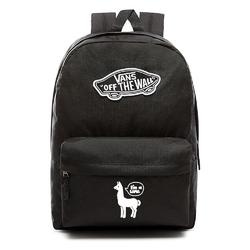 Plecak szkolny VANS Realm Backpack Custom White lama - VN0A3UI6BLK - White