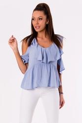 Bluzka -niebieski 48027-4