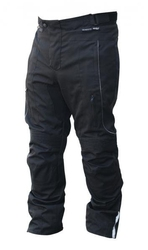 Gareth spodnie tekstylne  model eco kolor czarny
