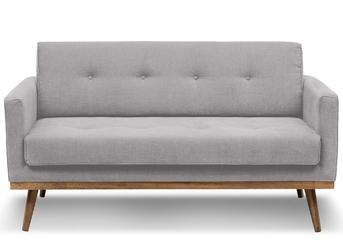 Sofa klematisar 2-osobowa jasnoszary