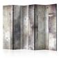 Parawan 5-częściowy - odcienie szarości room dividers