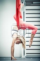 Obraz yoga antygrawitacja