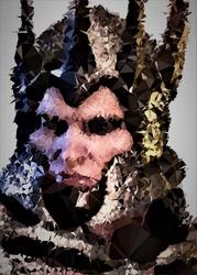 Polyamory - eredin, wiedźmin v.2 - plakat wymiar do wyboru: 42x59,4 cm