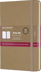 Notes Moleskine Two-Go M brązowy