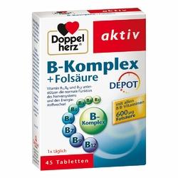Doppelherz B Komplex + kwas foliowy depot tabletki