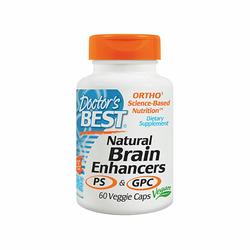 Doctors Best Natural Brain Enhancers 60vcaps