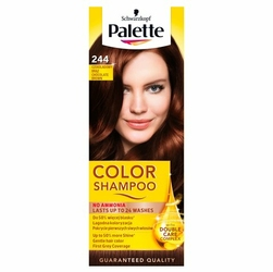 Palette Color Shampoo, koloryzujący szampon, 244 czekoladowy brąz