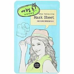 Holika Holika Mask Sheet After Taking a trip, nawilża i regeneruje skórę zmęczoną cerę