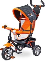 Toyz Timmy Orange Rowerek Trójkołowy z Obracanym Siedziskiem + Prezent 3D