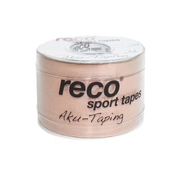 Reco Kinesiology Tape 5cm x 5m - beżowy - Beżowy