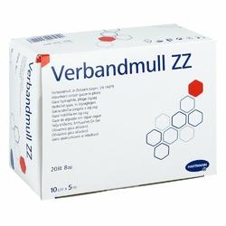 Verbandmull Hartmann 10cmx5m zickzack