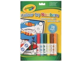 Kolorowanka według numerów