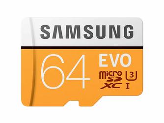 Karta pamięci Samsung EVO microSD XC 64GB UHS-I U3 adapter SD