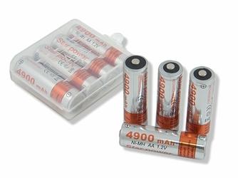 4 x Akumulatorki AA Star Power