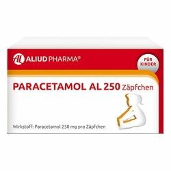 Paracetamol Al 250 Kleinkdr.suppos.