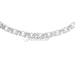 Łańcuszek Męski ozdobny srebrny pr. 925 Ø 0100