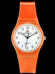 Zegarek damski PERFECT - SWATH 2 - orange zp765c