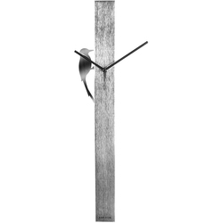 Zegar ścienny Woodpecker Tube Karlsson aluminium KA5418CH