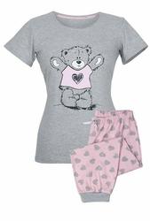 Muzzy Miś w Sweterku 8671 piżama damska