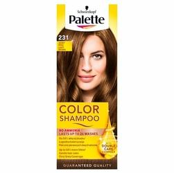 Palette Color Shampoo, koloryzujący szampon, 231 jasny brąz