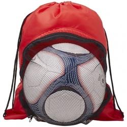 Plecak worek na piłkę nożną Goal | 1203002 czerwony