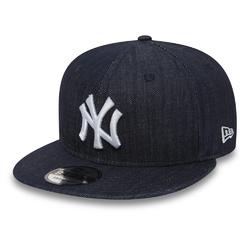 Czapka New Era 9FIFTY Essential Denim NY New York Yankees - 11066060