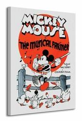 Mickey Mouse The Musical Farmer - Obraz na płótnie