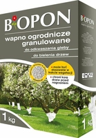 Biopon, wapno ogrodnicze granulowane, 1kg