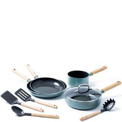 Patelnie, rondel i akcesoria kuchenne Mayflower GreenPan 9 elementów CC001594-001