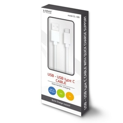 Elmak Kabel USB - USB typ C Quick Charge, 5A, 1m SAVIO CL-126