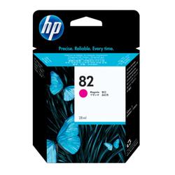 Purpurowy wkład atramentowy HP 82 DesignJet 28 ml